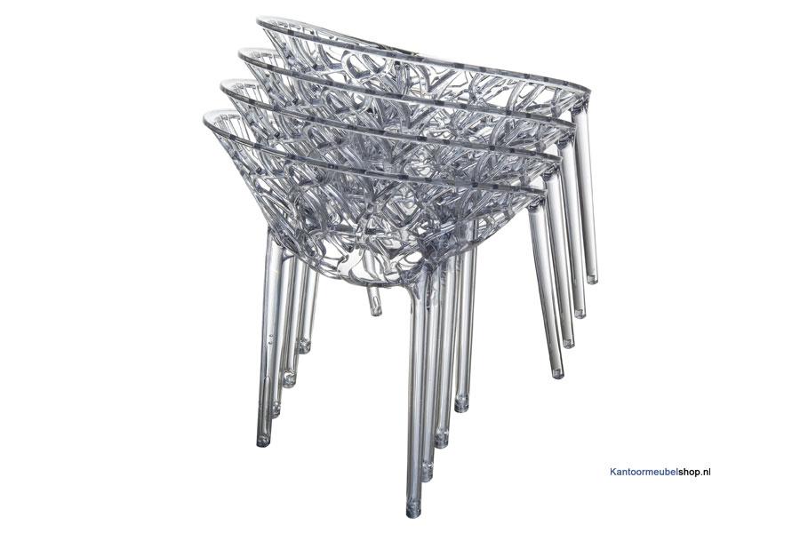 Stapelbare stoelen   Crystal   Kantoorstoelsho
