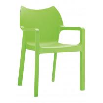 stapelbare stoel groen diva